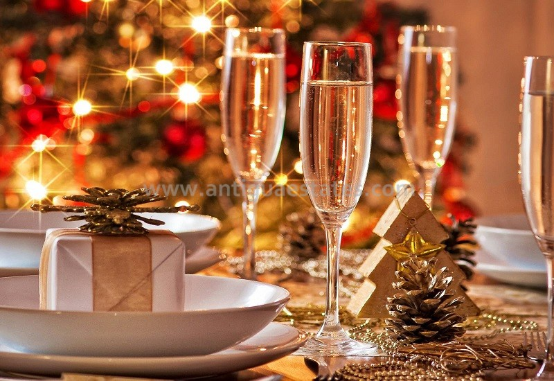 christmas day champagne party antigua