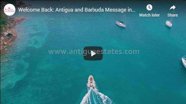 Welcome back to Antigua