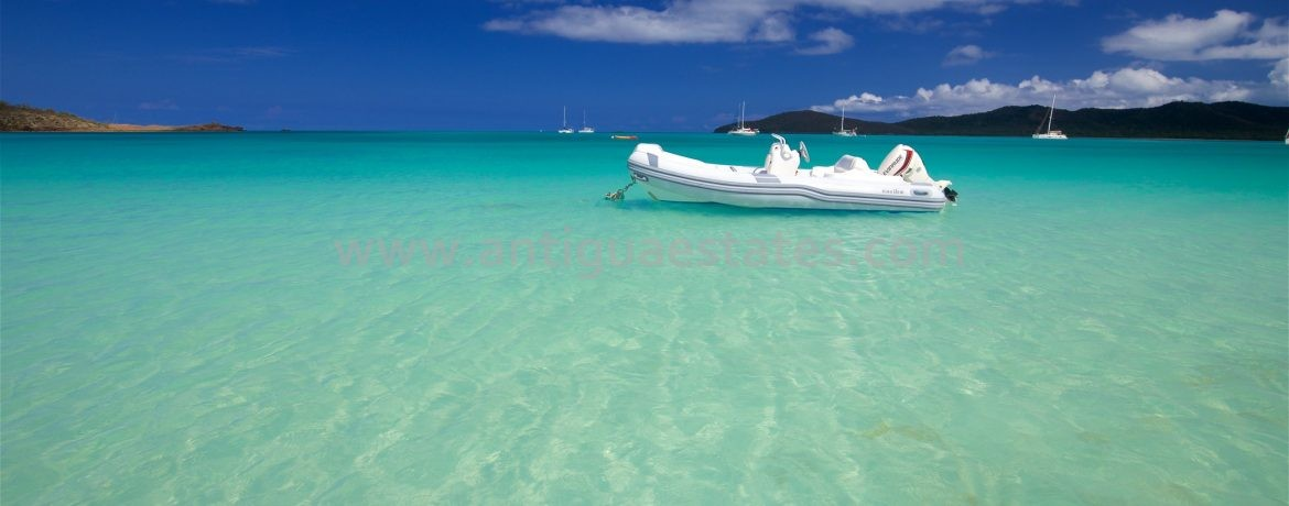 floating dingy antigua